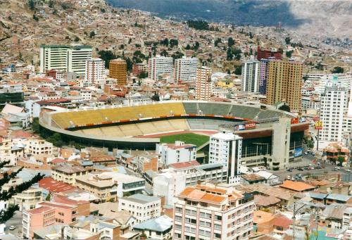 Bolivia Football Stadium La Paz