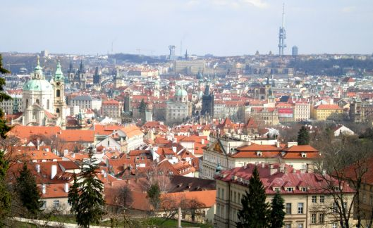 Skyline Prague