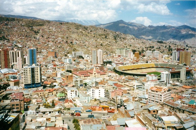 Bolivia Football Stadium La Paz-1