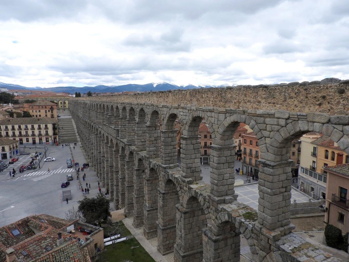 the aqueduct of segovia wilbur u0027s travels