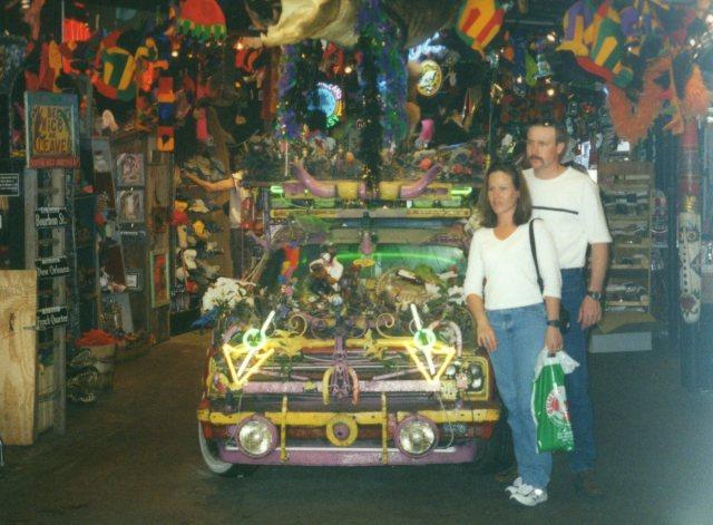 Bourbon Street Souvenir Shop New Orleans