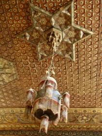 Medersa ceiling