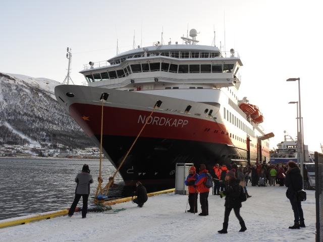 Hurtigruten Ship Tromso Norway