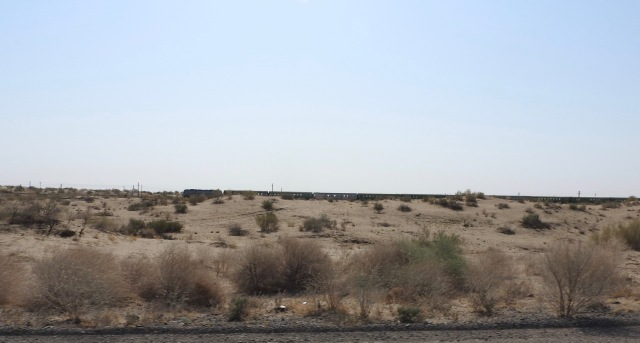 Train Karakum Desert